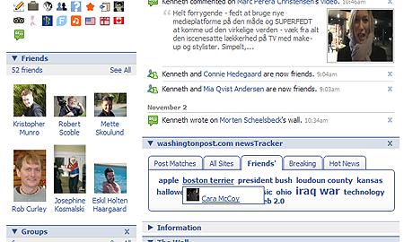 Washington Posts newstracker til Facebook